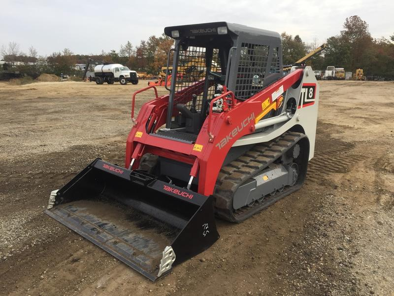 2017 TAKEUCHI TL8 SKID STEER CRAWLER 538596 Skid Steer Crawler