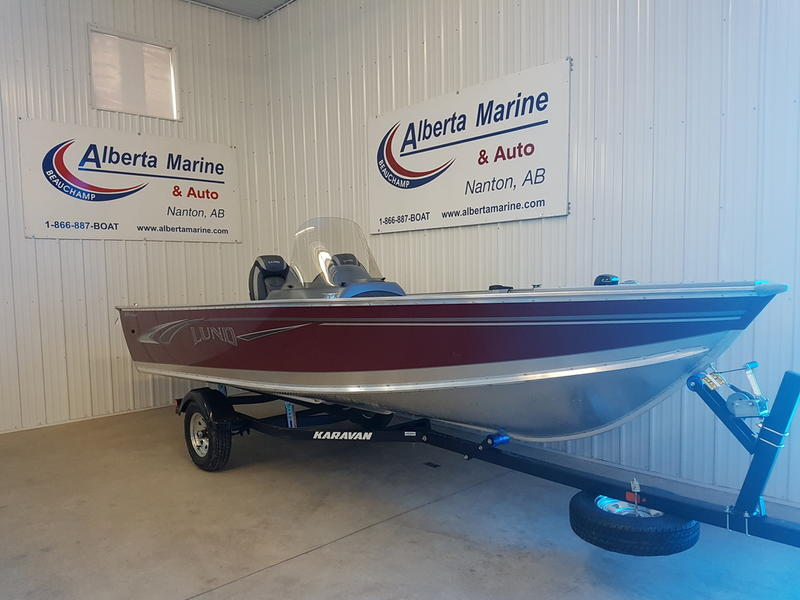 For Sale: 2018 Lund Alaskan 1800 Ss ft<br/>Alberta Marine