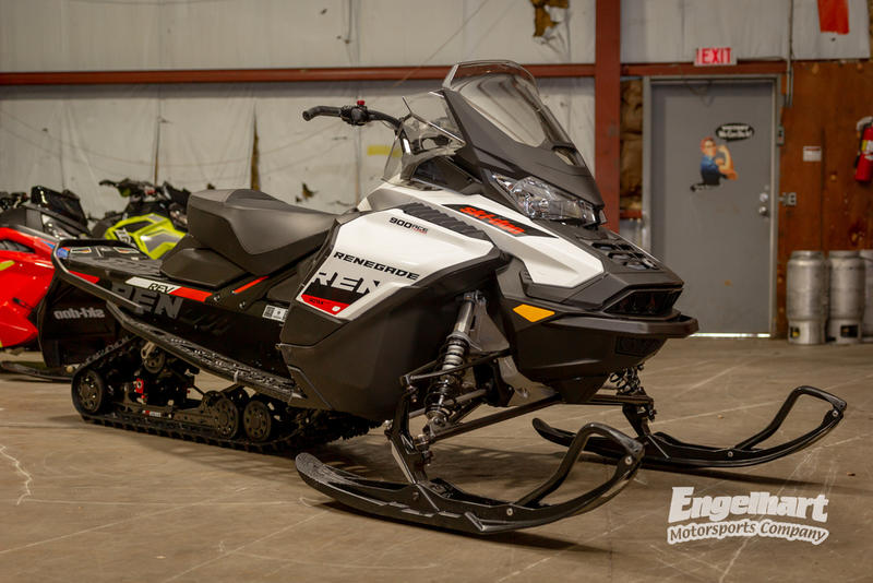 2019 Ski-Doo Renegade® Adrenaline 900 ACE Turbo White & Black
