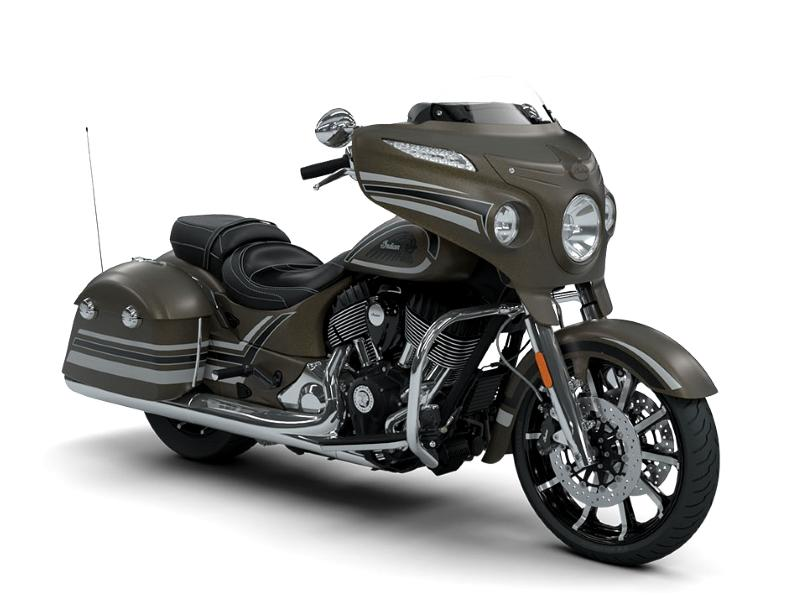 2018 Indian Motorcycle® Chieftain® Limited ABS Bronze Smoke