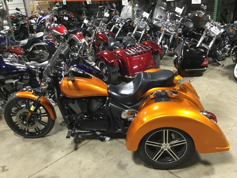 2012 Kawasaki Vulcan 900 Custom Wlehman Trike Bob Weaver