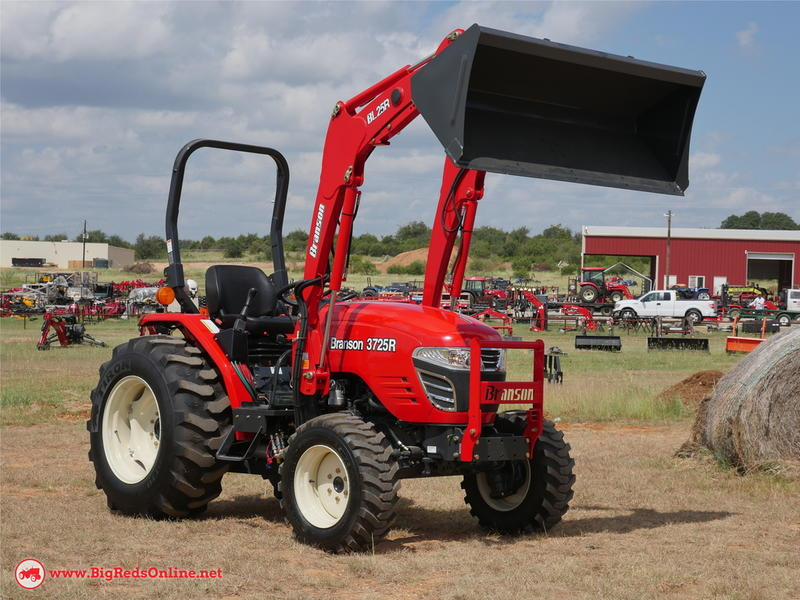 2019 Branson Tractors 3725R Stock: Branson3725R | Big Red's