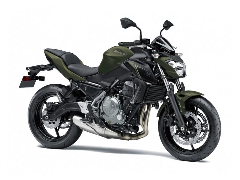 2018 Kawasaki Z650 ABS | 1 of 3