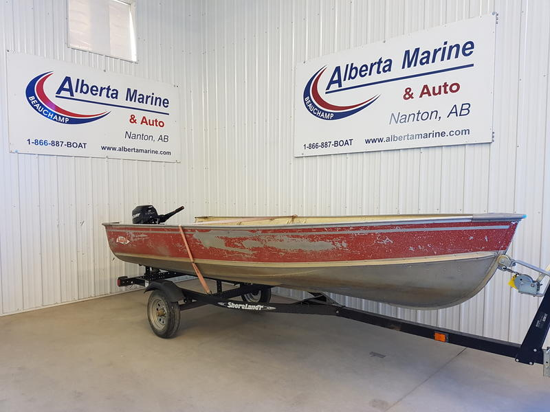 For Sale: 1981 Lund S14 ft<br/>Alberta Marine