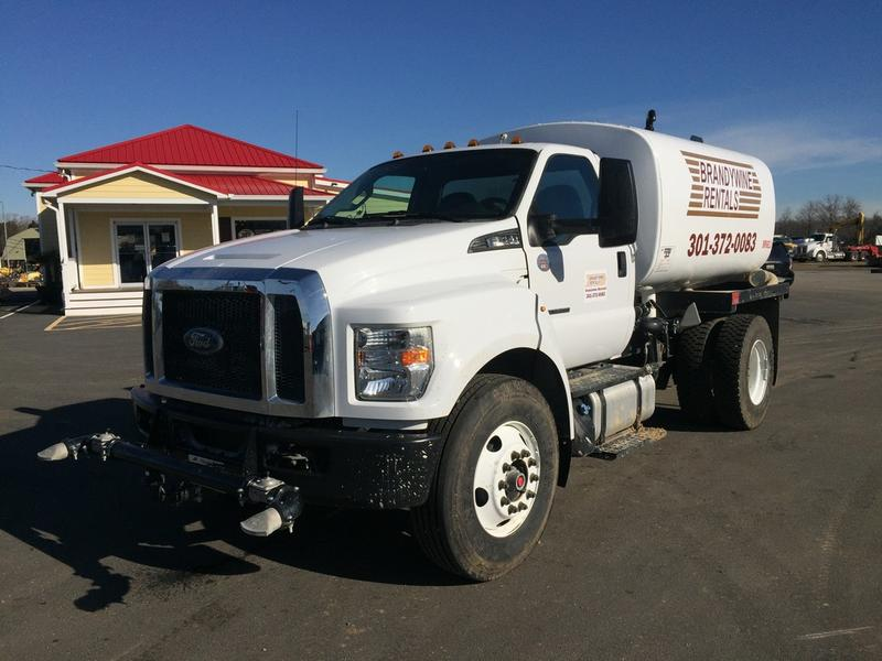 NEW 2017 FORD F750 WATER TRUCK #529046