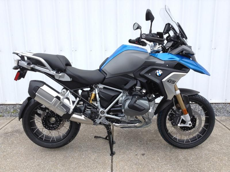 2019 Bmw R 1250 Gs Cosmic Blue Met Premium Velocity Cycles