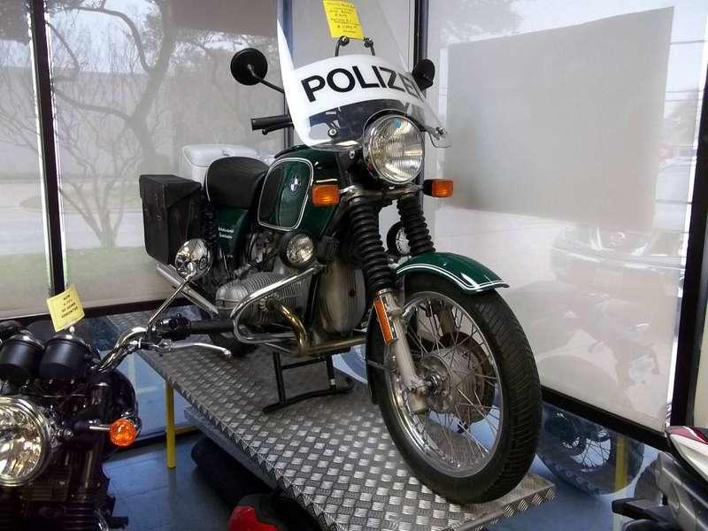 Replica German Police Motorcycle