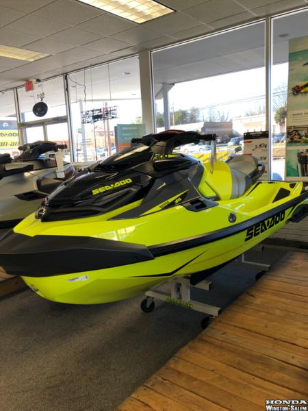 2019 Sea-Doo RXT®-X® 300 Neon Yellow and Lava Grey