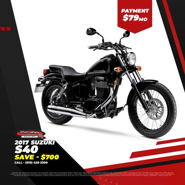 2017 Suzuki Boulevard S40 | Del Amo Motorsports of South Bay
