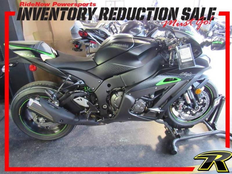 2018 Kawasaki Ninja® ZX™-10R SE | RideNow