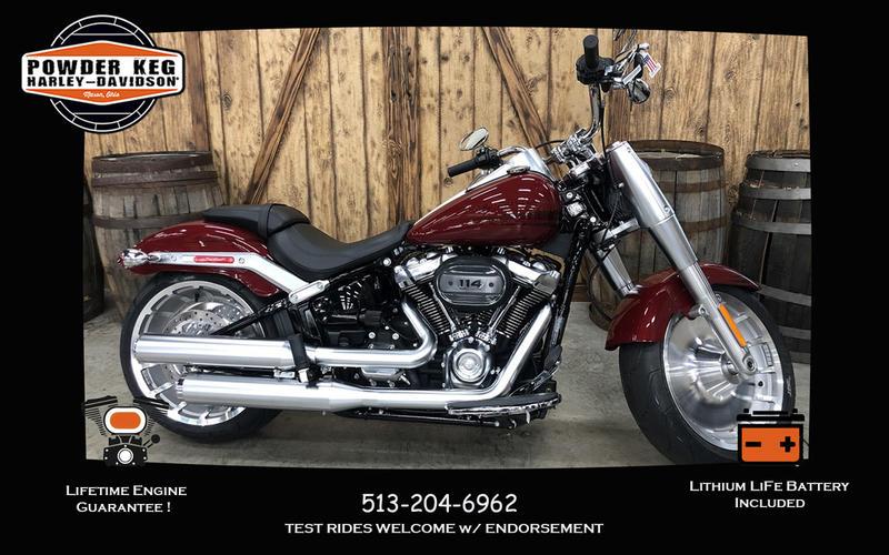 2020 Harley-Davidson® FLFBS - Softail® Fat Boy® 114 | Powder