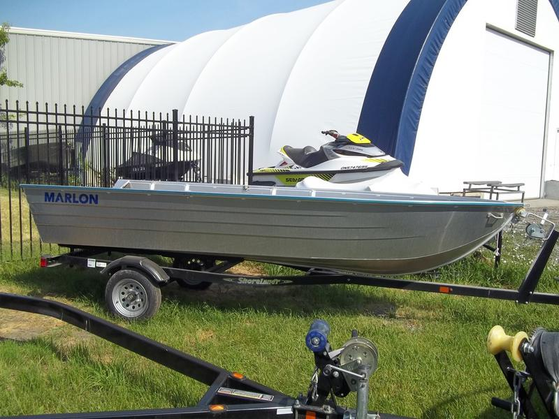 2018 Marlon boat for sale, model of the boat is ALUMINUM & Image # 3 of 6