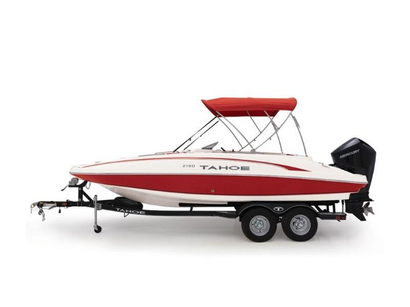 New  2019 Tahoe® 2150 Deck Boat in Hammond, Louisiana