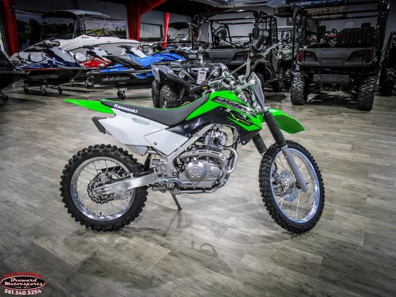 2019 Kawasaki KLX 140L 8