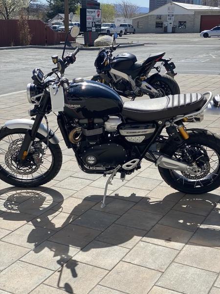 New 2021 Triumph Scrambler 1200 Bond Edition Motorcycles