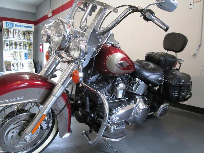 2009 Harley-Davidson FLSTC - Heritage Softail 11