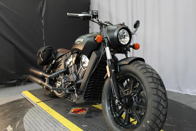 2019 Indian Motorcycle® Scout® Bobber ABS Thunder Black Smoke