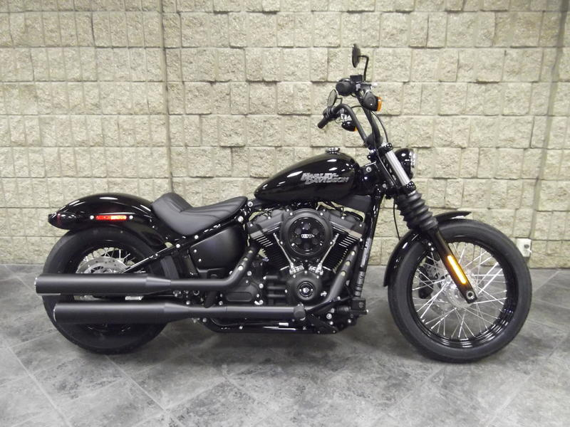 2018 harley davidson fxbb softail street bob waukon. Black Bedroom Furniture Sets. Home Design Ideas