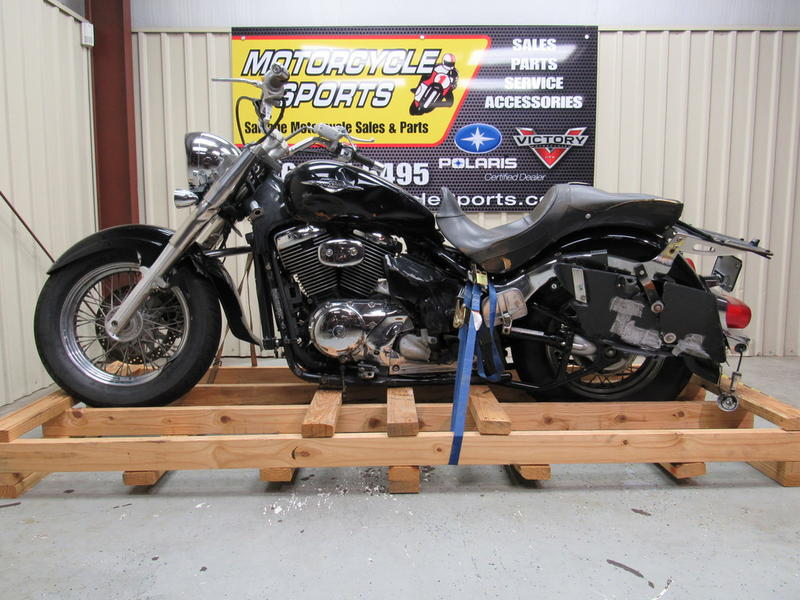 2007 suzuki boulevard c50 black stock: s02395 | motorcycle sports inc