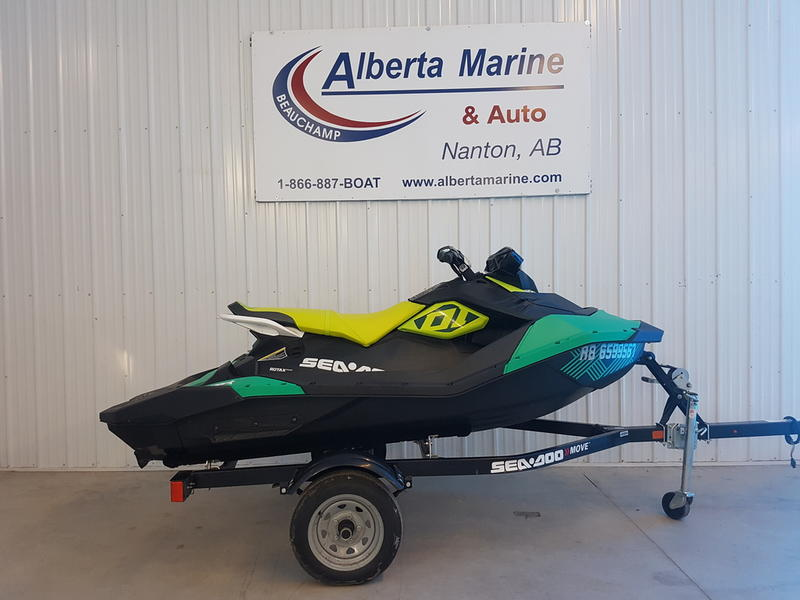 For Sale: 2019 Sea Doo Pwc Spark® Trixx 3-up Rotax® 900 H.o. Ace™ Ibr & Sound System ft<br/>Alberta Marine