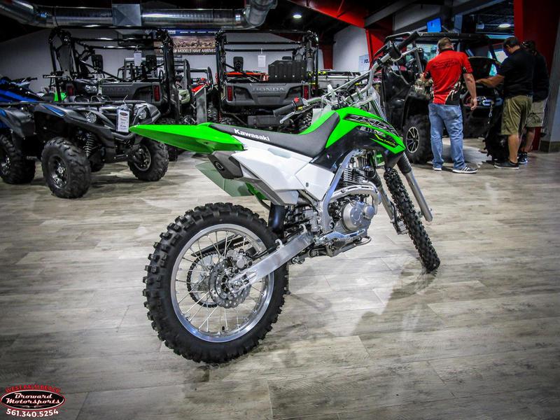 2019 Kawasaki KLX 140L 7