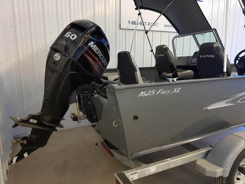 2018 Lund boat for sale, model of the boat is Fury XL 1625 Sport & Image # 8 of 8