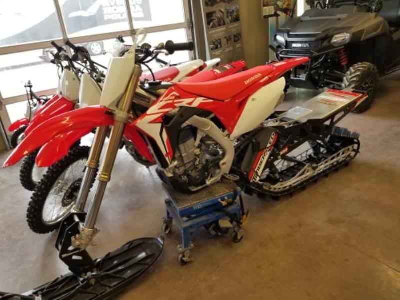 2018 Honda® CRF450R | Avenue Honda Polaris®