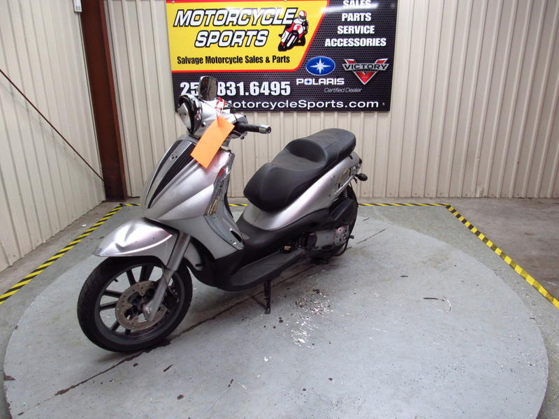 2009 piaggio bv 250 stock: p01626 | motorcycle sports inc