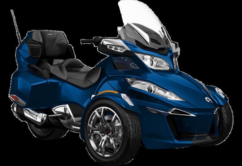 2019 Spyder® RT LTD Oxford blue/chrome