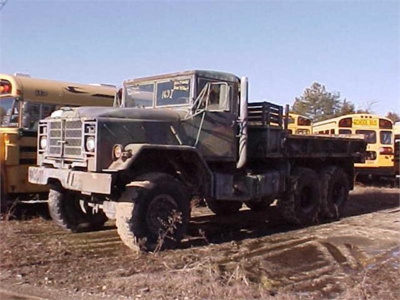 USED 1996 INOPERABLE AM GENERAL M923A1 FLATBED TRUCK #258327
