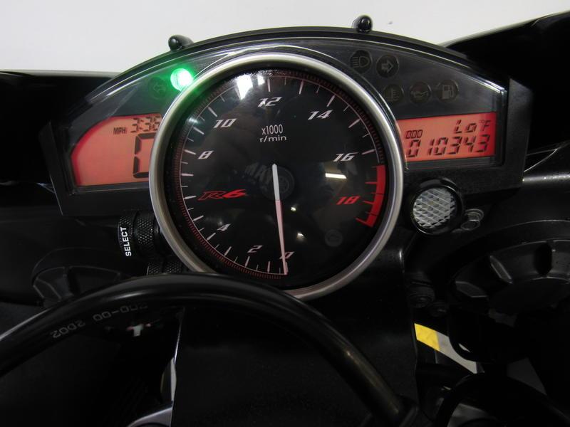 2012 Yamaha R6 7