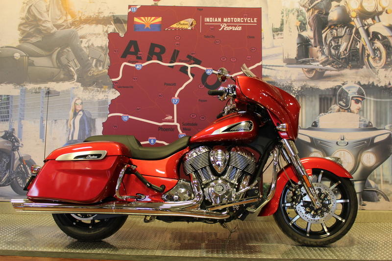 2019 Indian Motorcycle® Chieftain® Limited Ruby Metallic