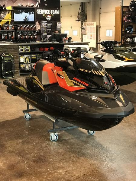 2019 Sea-Doo RXP®-X® 300 Black and Lava Red | Basecamp