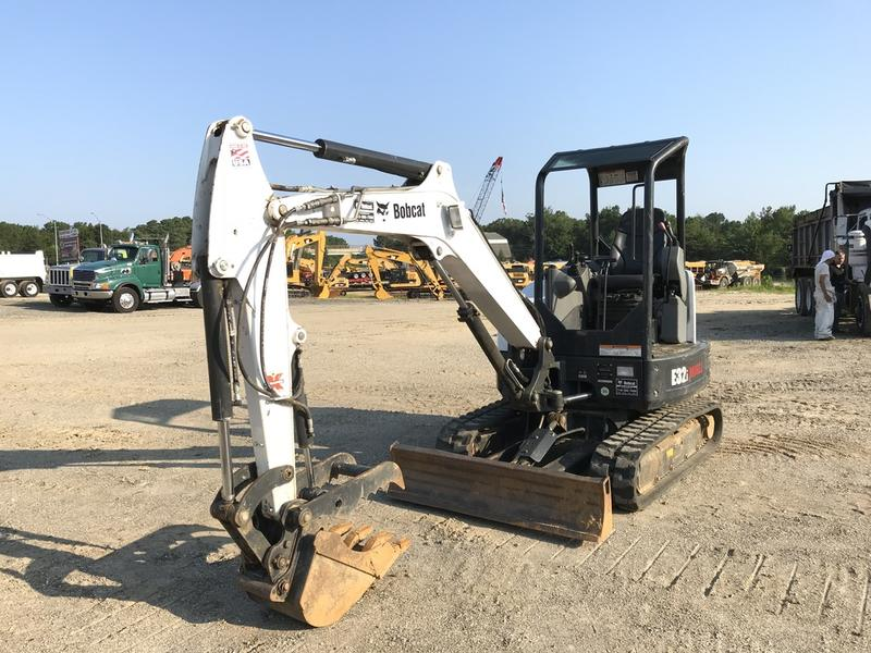USED 2016 BOBCAT E32I MINI EXCAVATOR EQUIPMENT #563758