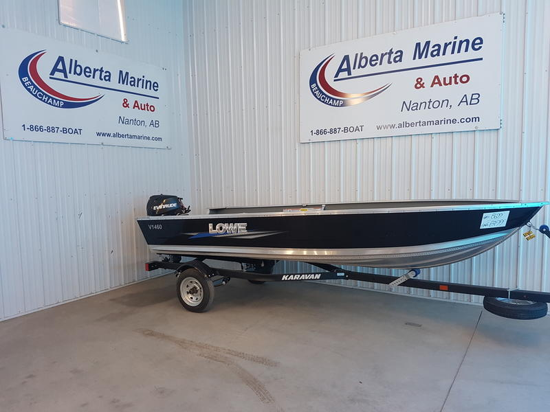 2018 Lowe boat for sale, model of the boat is V1460 & Image # 1 of 5