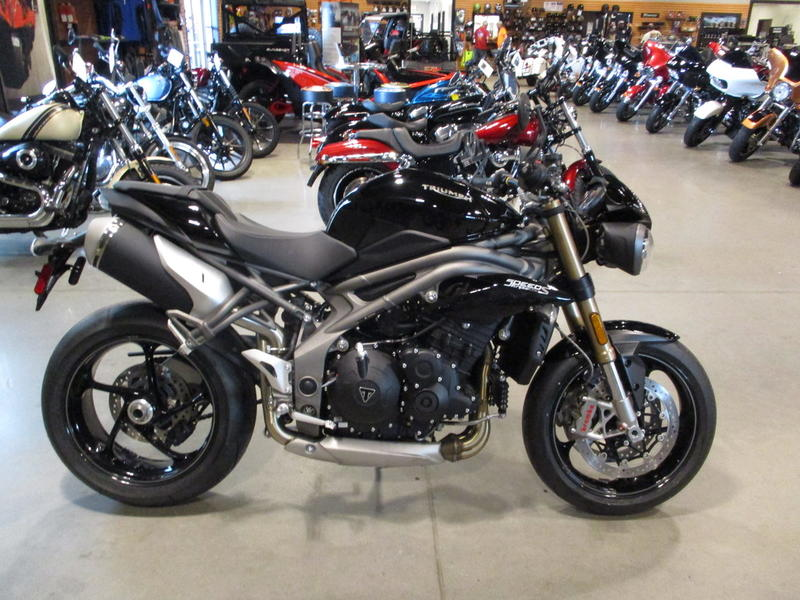 2019 Triumph Speed Triple S Jet Black | Baker American Cycles