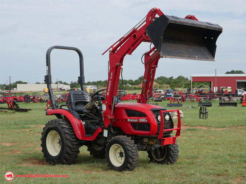 1900 Branson Tractors 2800h Stock: 13480 | Big Red's Equipment Sales