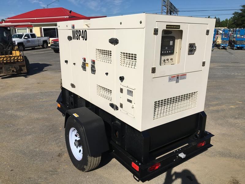 2018 WANCO WSP40 Generator Set
