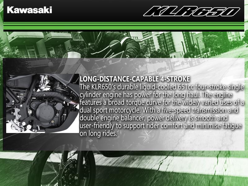2018 Kawasaki KLR650 Camo | Burnaby Kawasaki