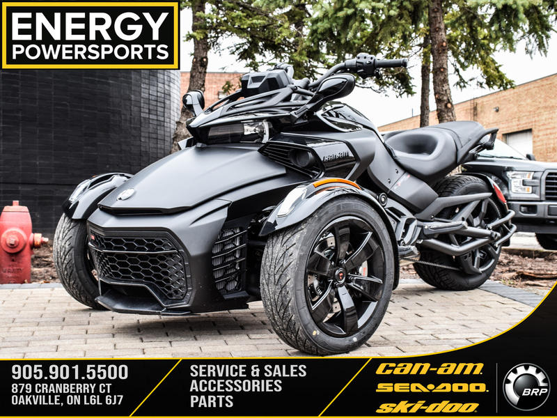 2019 Can-Am ATV Spyder F3-S 6-Speed Semi-Automatic (SE6)