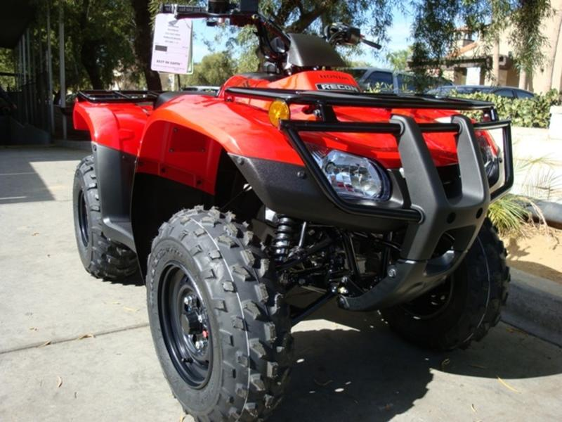 2019 Honda FourTrax Recon 8