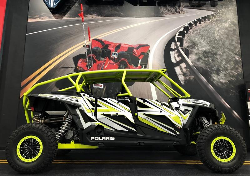 2018 Polaris® RZR XP® 4 1000 EPS White Lightning | Del Amo