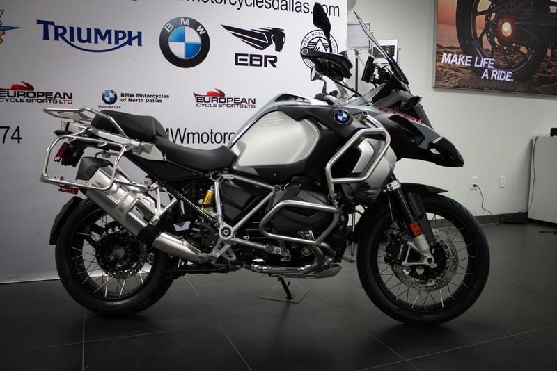 2019 BMW R 1250 GS Adventure Ice grey | Triumph Motorcycles Dallas