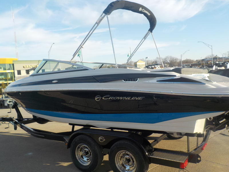 Crownline Boats 225 SS BR Bowrider I//O Trailerable Boat Cover Navy