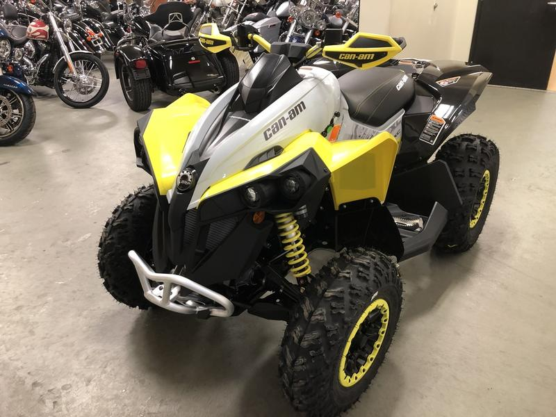 "Can-am Renegade All Years All Models Rear Rack /""Yellow/"""