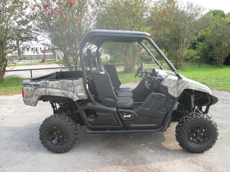 2018 Yamaha Viking EPS Realtree Xtra w Suntop Aluminum Wheels for sale 135995