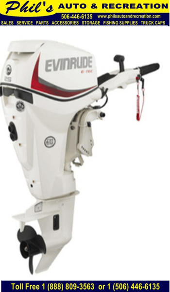 Evinrude E-Tec 25 HP E25DGTEAF 8352 | Phil's Auto & Recreation