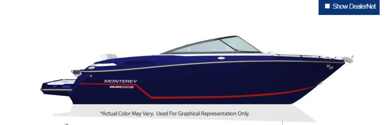 For Sale: 2019 Monterey 218ss ft<br/>Bay Marine