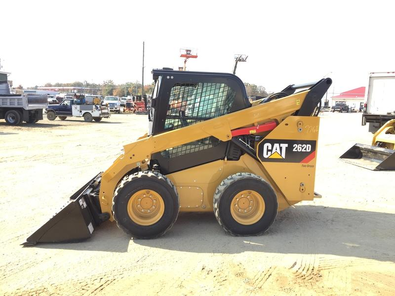 2016 CATERPILLAR 262D Skid Steer Wheel Loader