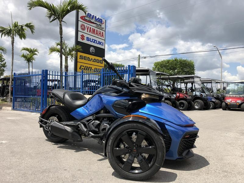 Spyder Motorcycle For Sale >> 2019 Can Am Spyder F3 S 6 Speed Semi Automatic Se6 Riva